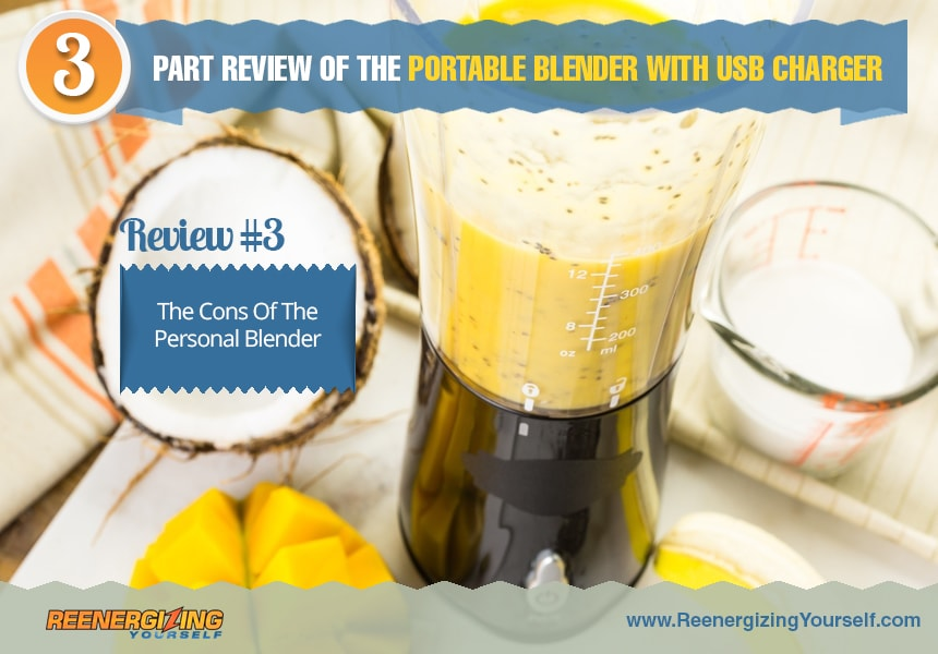 portable blender with usb