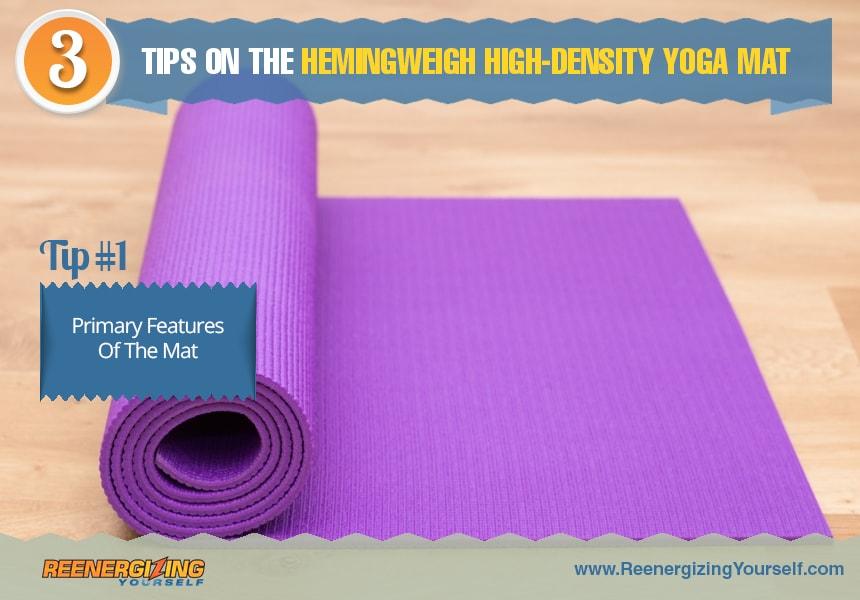 high density yoga mat