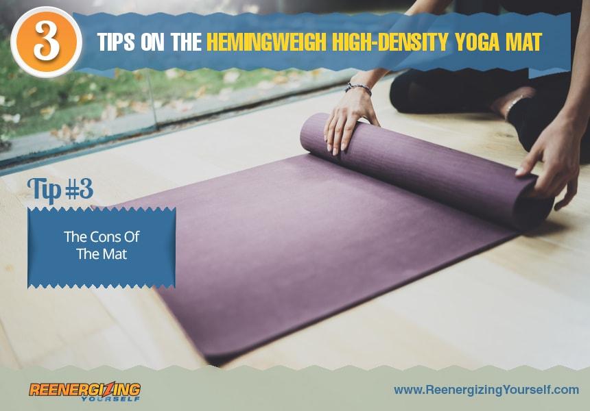 hemingweigh yoga mat